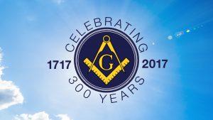 Celebrate Tercentennial Masonic Anniversary